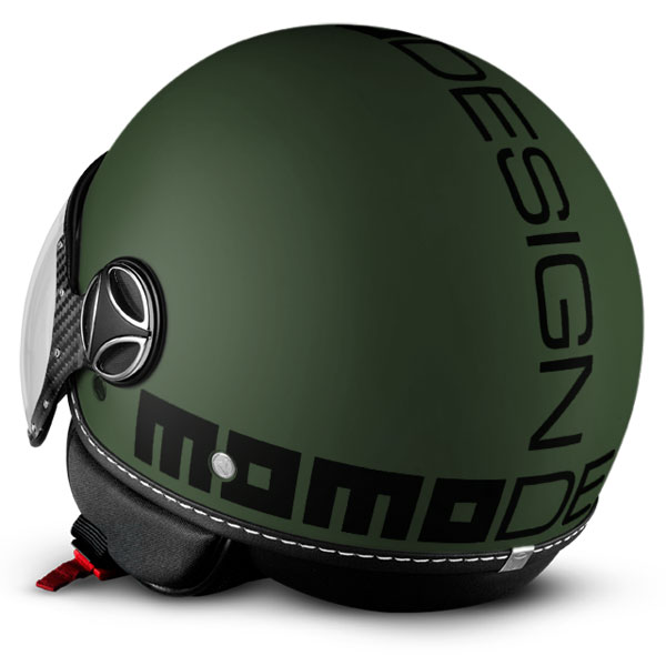 Momo Design Fighter Classic Jet Helmet Military Green Black