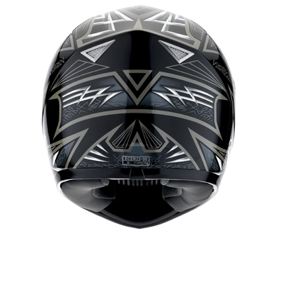 MDS by AGV Sprinter Multi Heritage Full Face Helmet - Col. Bla
