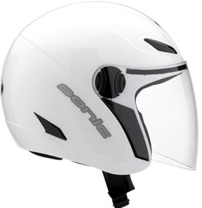 MDS by AGV Sonic Mono Open Face Helmet - Col. White