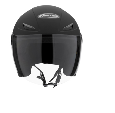 MDS by AGV Sonic Mono Open Face Helmet - Col. Matt Black