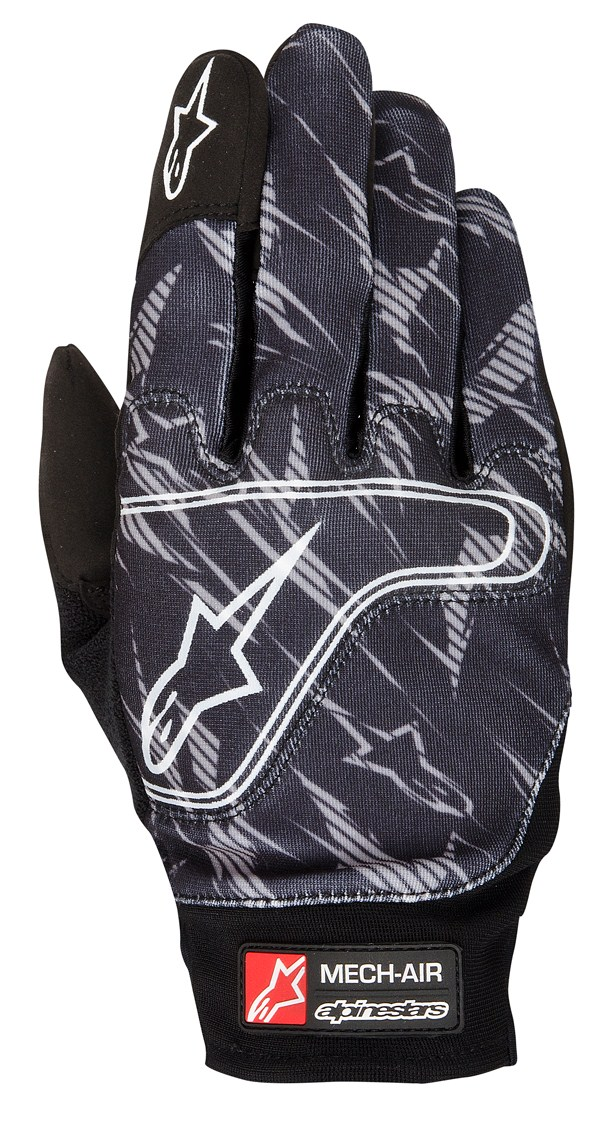 Alpinestars Mech Air gloves black gray