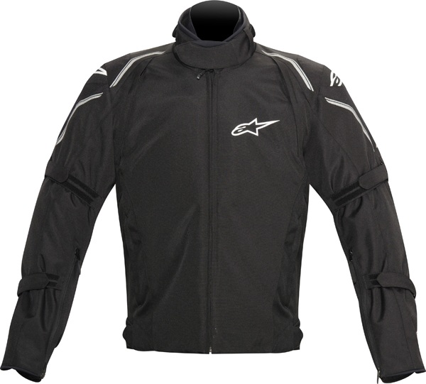 Alpinestars MegatonDS motorcycle jacket black ardesia grey