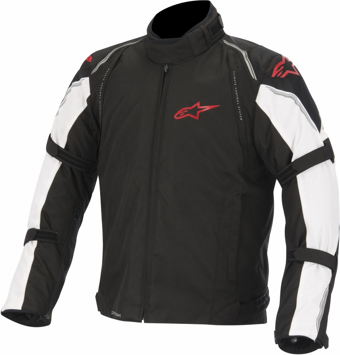 Alpinestars Megaton DS motorcycle jacket black white