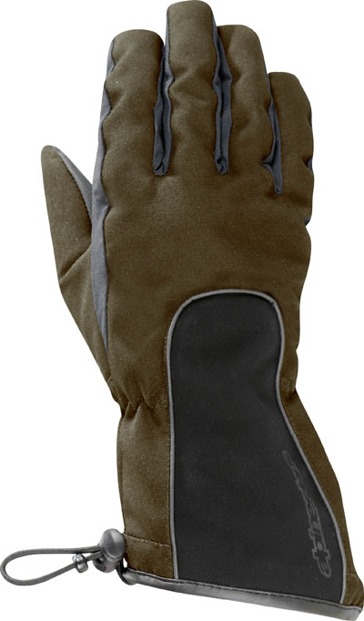 Alpinestars Messenger Drystar gloves desert