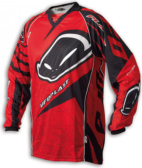 Ufo Plast MX-22 enduro jersey red