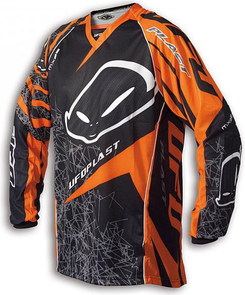 Ufo Plast MX-22 enduro jersey orange