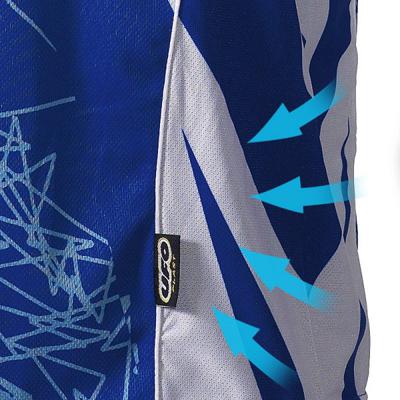Maglia cross Ufo Plast MX-22 blu