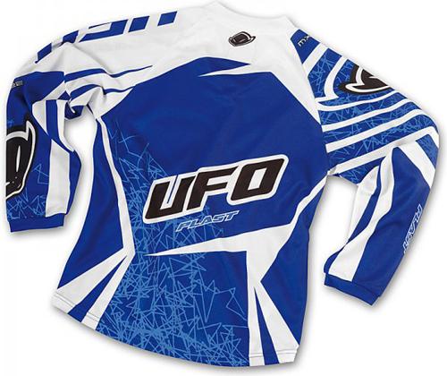 Ufo Plast Mx-22 kid jersey blue