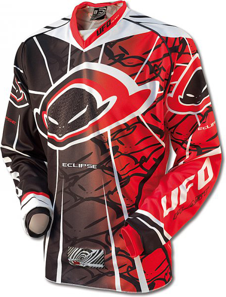 Ufo Plast Made in Italy 2012 Eclipse enduro jersey red-black