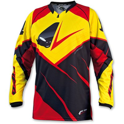 Cross Jersey UFO MX-23 Micron Jersey Yellow Red