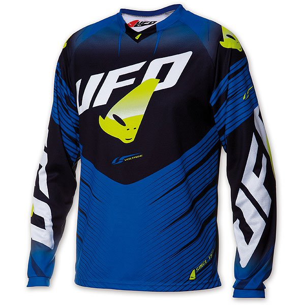 Ufo Plast Voltage cross jersey Blue Black
