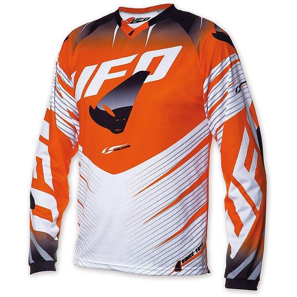 Ufo Plast Voltage cross jersey Orange White