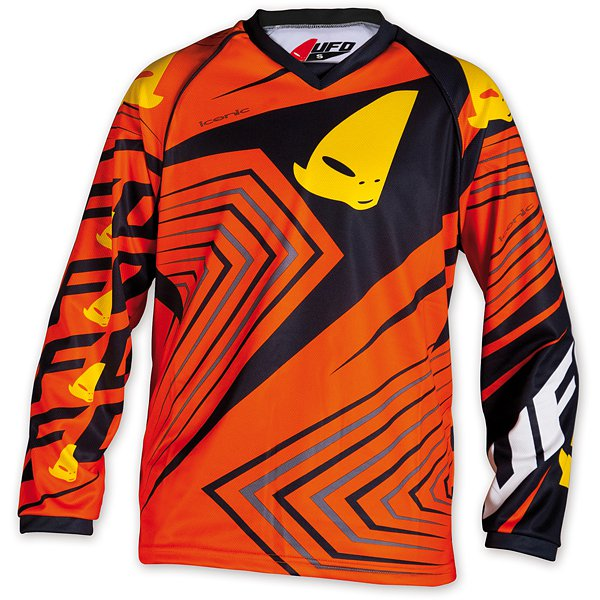 Ufo Plast Iconic kid cross jersey Yellow Orange