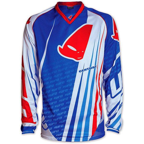 Ufo Plast Century cross jersey Blue Red White
