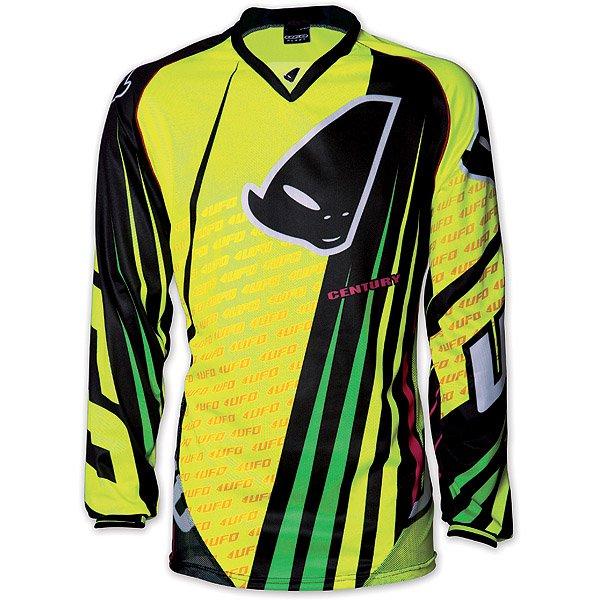 Ufo Plast Century cross jersey Yellow Black