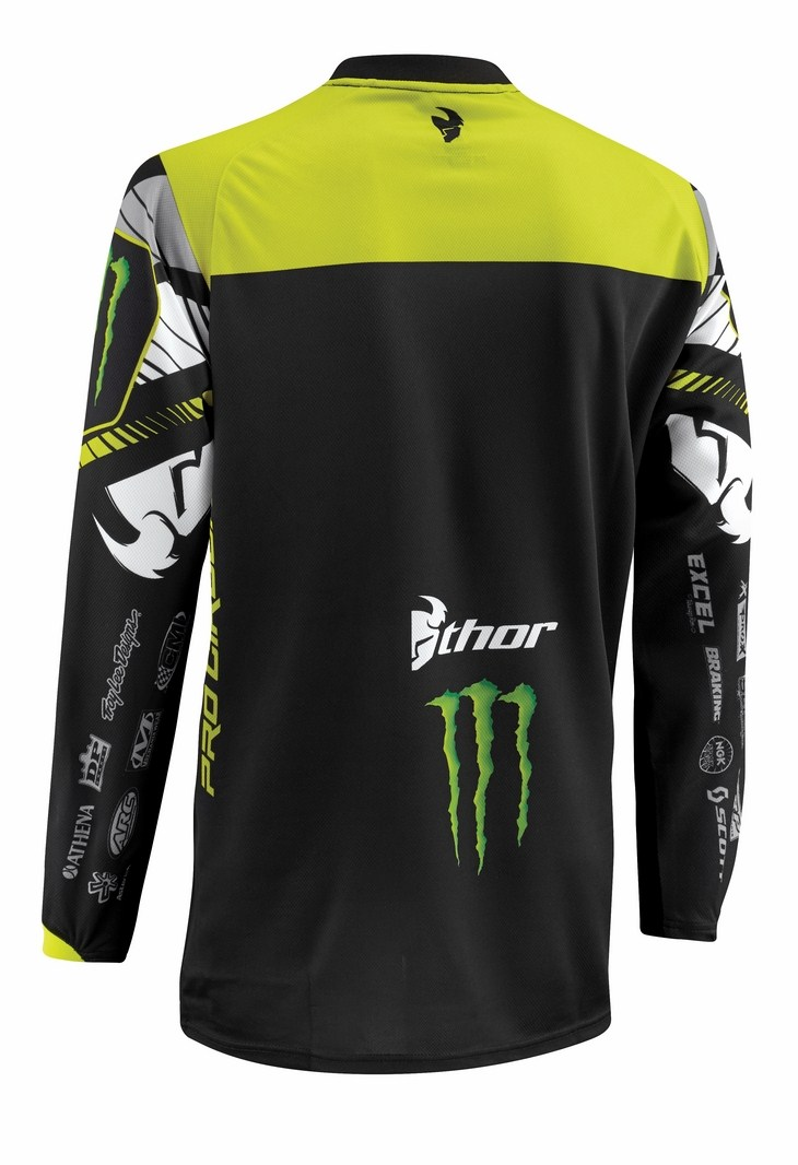 Maglia cross Thor Phase Pro Circuit nera
