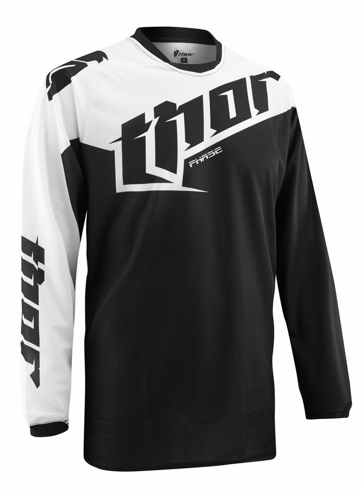 Thor Phase Tilt jersey black