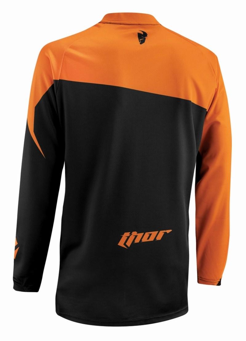 Thor Phase Tilt jersey orange