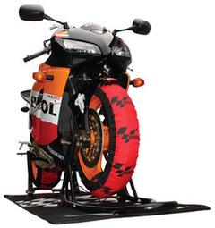 SuperSport MotoGP Design, front and back