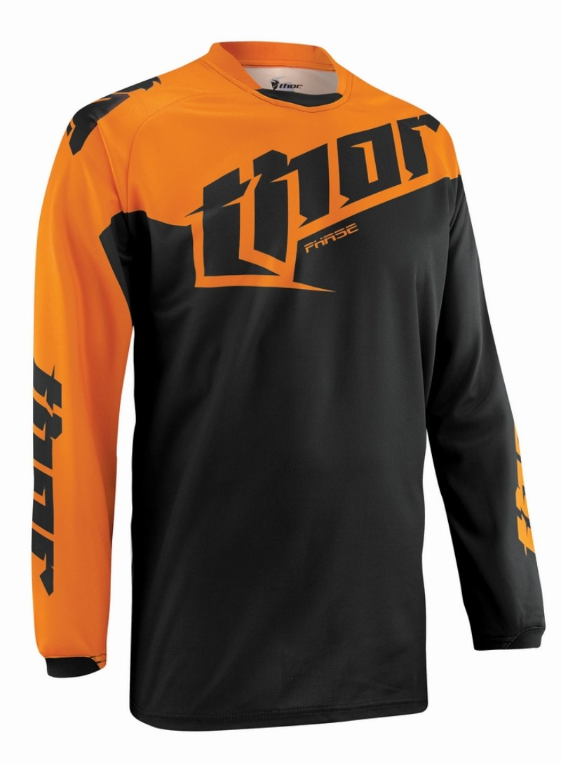 Thor Youth Phase Tilt jersey orange
