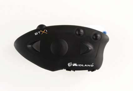 Midland BTX1 Single Bluetooth Intercom System for 1 helmet