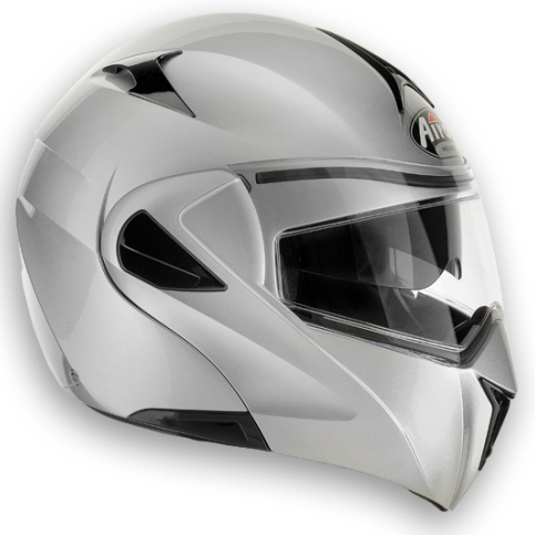 AIROH Mirò XRP Color open-face helmet silver metal