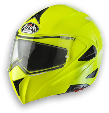 Airoh Mirò XRP HIgh Visibility open face helmet