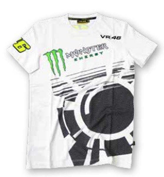 VR46 Monster T-shirt white
