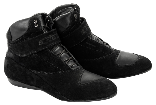 Alpinestars Monaco Riding WP motorcycle shies black