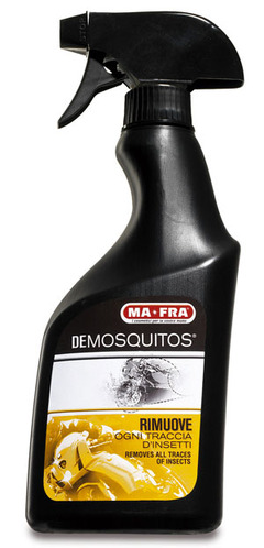DEMOSQUITOS by Mafra, elimina residui insetti