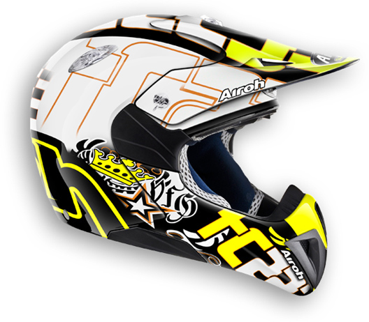Cross motorcycle helmet child Mr. Cross TC14 Airoh