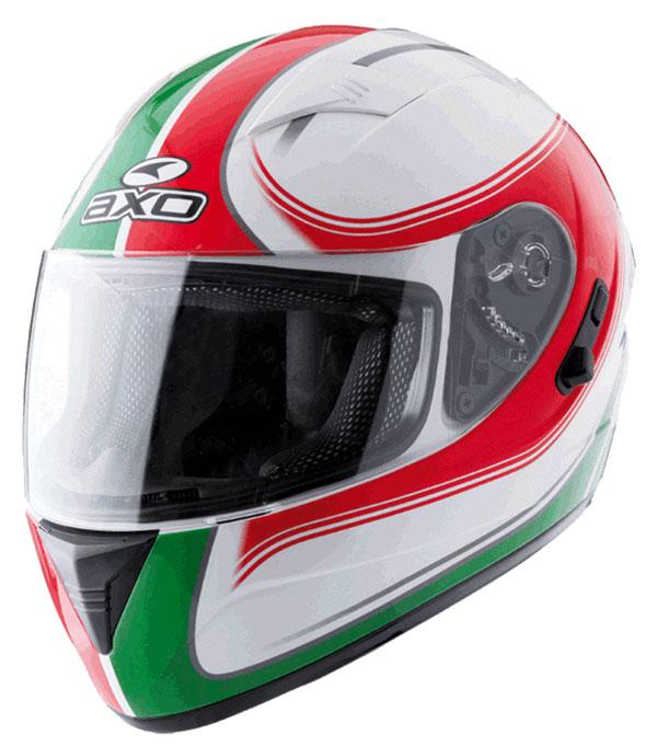 Full face helmet with goggles sun AXO Goblin Italy