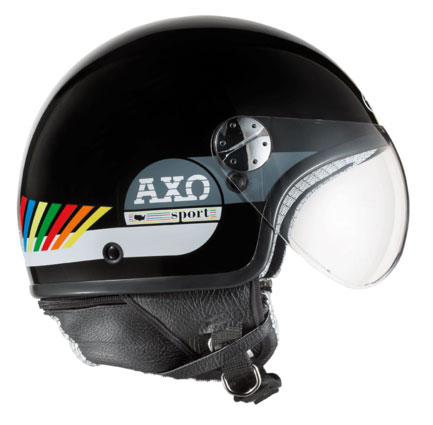 jet helmet AXO Subway Multicolor