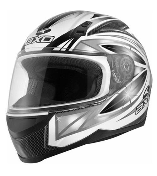 Full face helmet AXO Cosmos Black