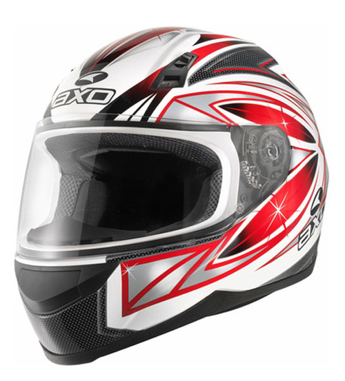 Full face helmet AXO Red Cosmos