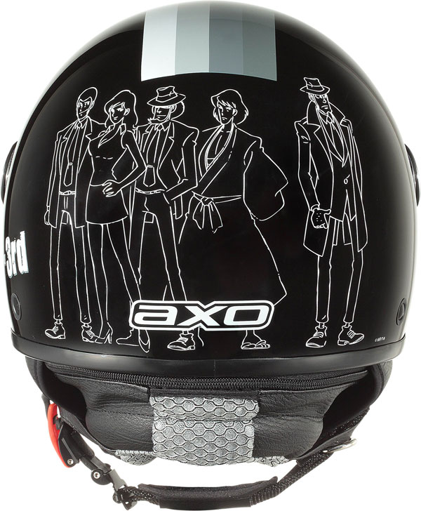 Jet Helmet AXO Subway Lupin III Black