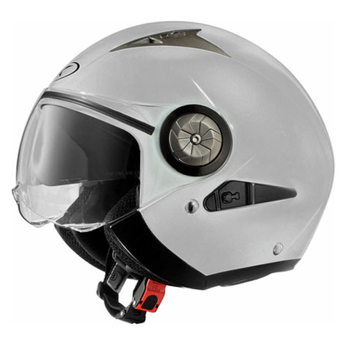 Jet helmet with visor eyeglass AXO Lord Grey