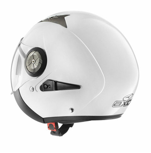 Jet helmet with visor eyeglass AXO Lord White