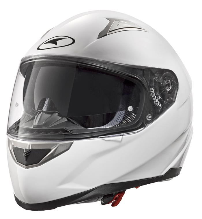 AXO Velvet full face helmet White