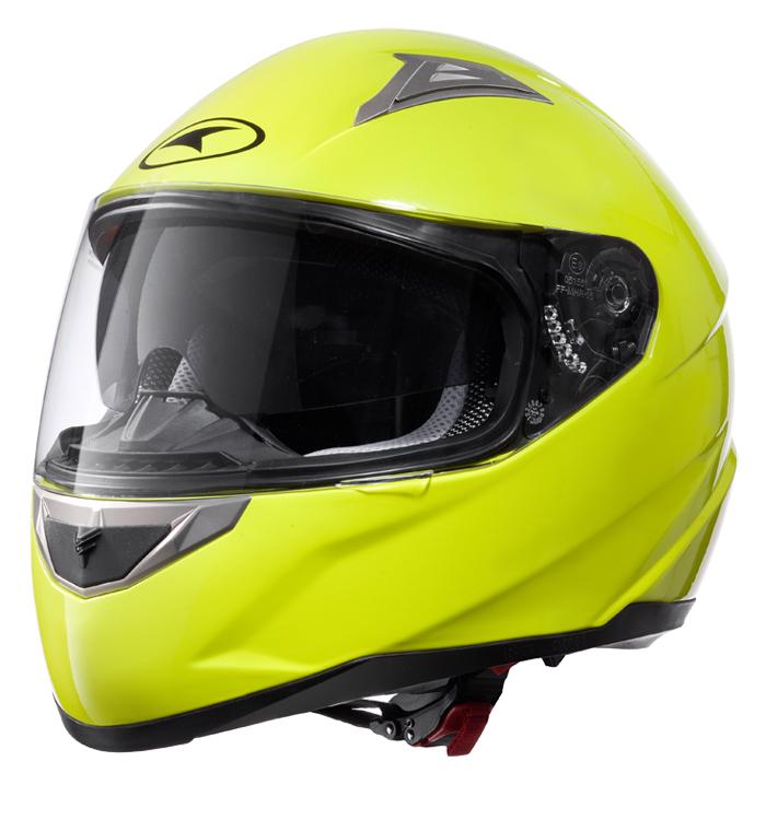 AXO Velvet full face helmet Yellow