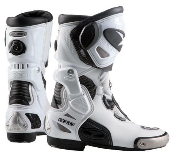Motorcycle Boots AXO Aragon White