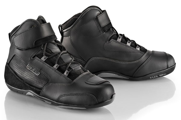 Shoes AXO motorcycle Waterloo Ages WP Black