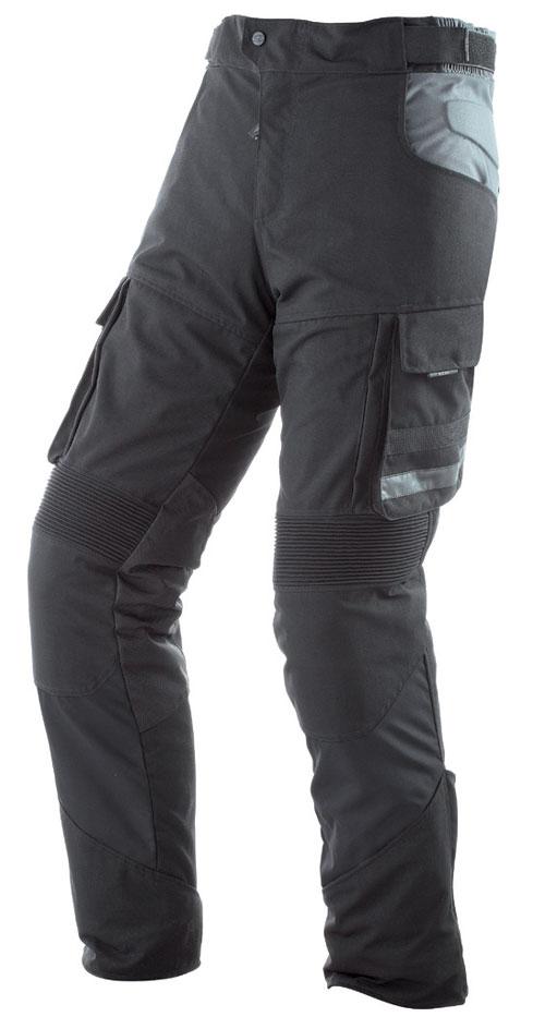 Pantaloni moto impermeabili AXO Cayman Nero