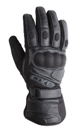 Leather Winter Gloves AXO Cabot WP Black
