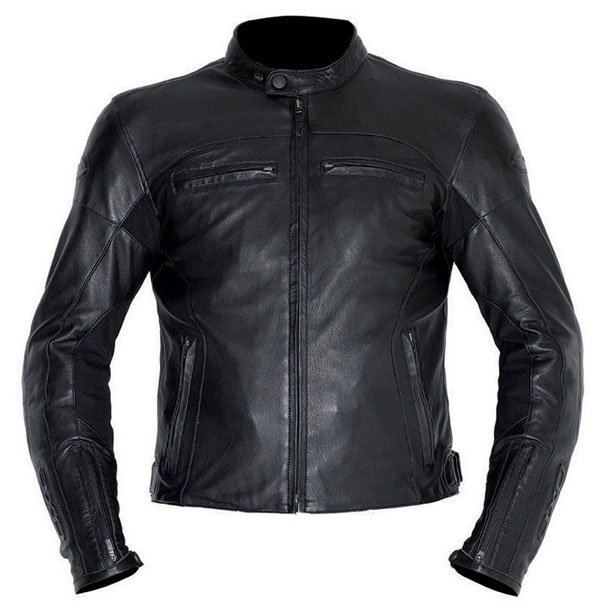Motorcycle Leather Jacket AXO Black Devil