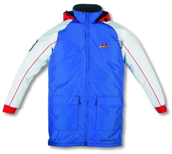 Paddock Jacket AXO Blue White