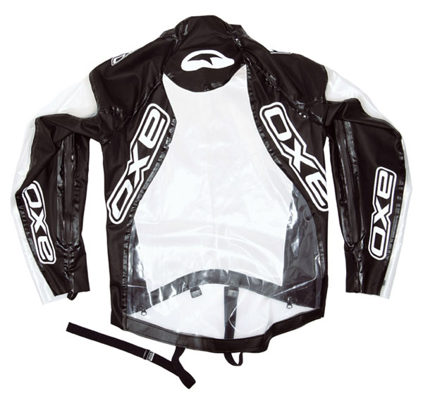Clear Rain Jacket AXO Riders