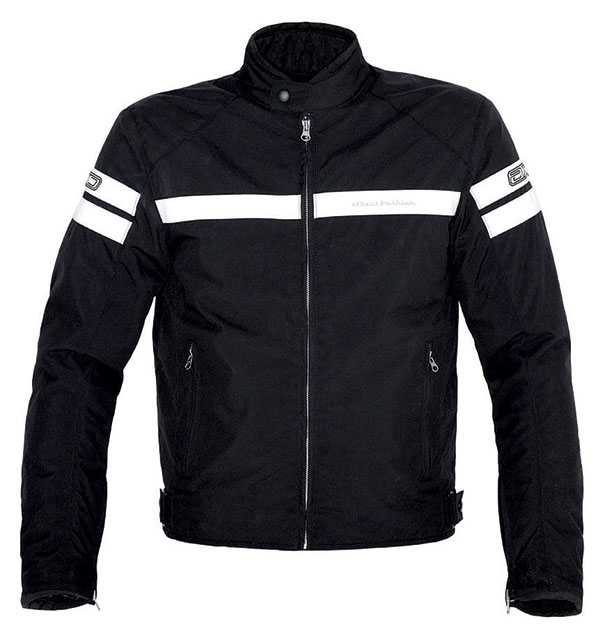 AXO motorcycle jacket street fashion Pro Black White