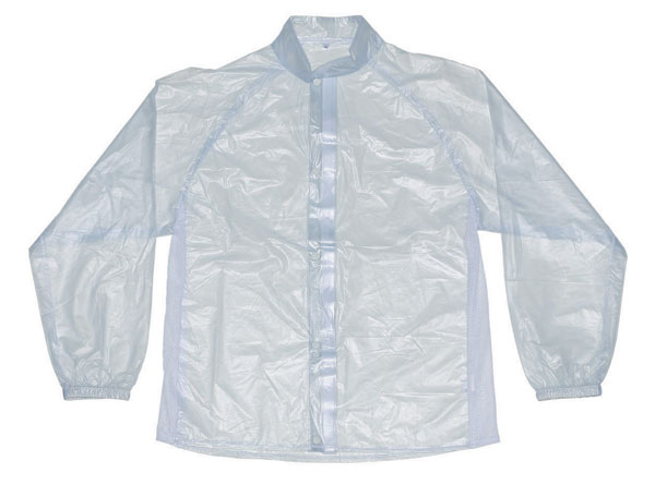 Rain Jacket AXO Motocross Transparent