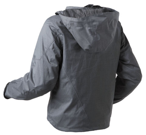 AXO motorcycle jacket waterproof Head Up Dark Grey